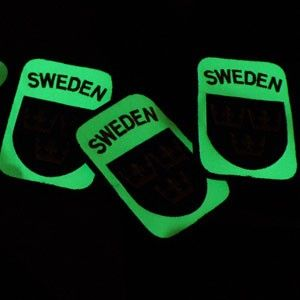 TAC-UP GEAR - 0207 Sweden Velcro Glow Patch