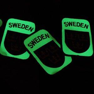 TAC-UP GEAR - 0207 Sweden Velcro Glow Patch