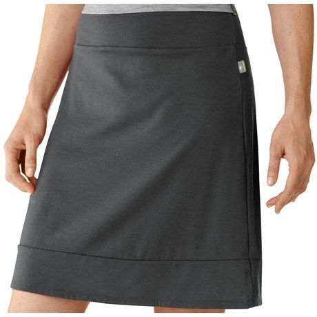 99b8e1344069 smartwool hiking skirt. Perfect length and because it's 100% merino wool it  dries very quick!