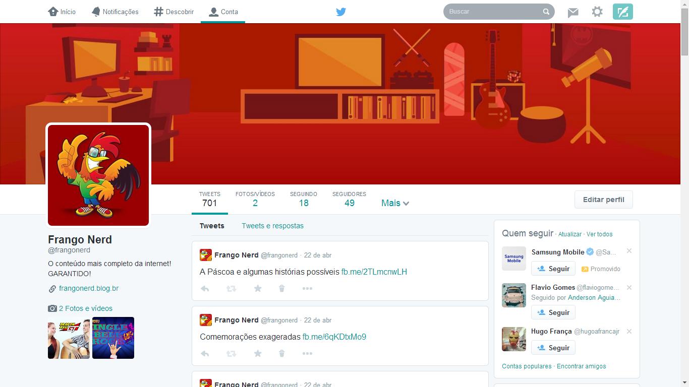 Como ativar o novo layout de perfil no Twitter