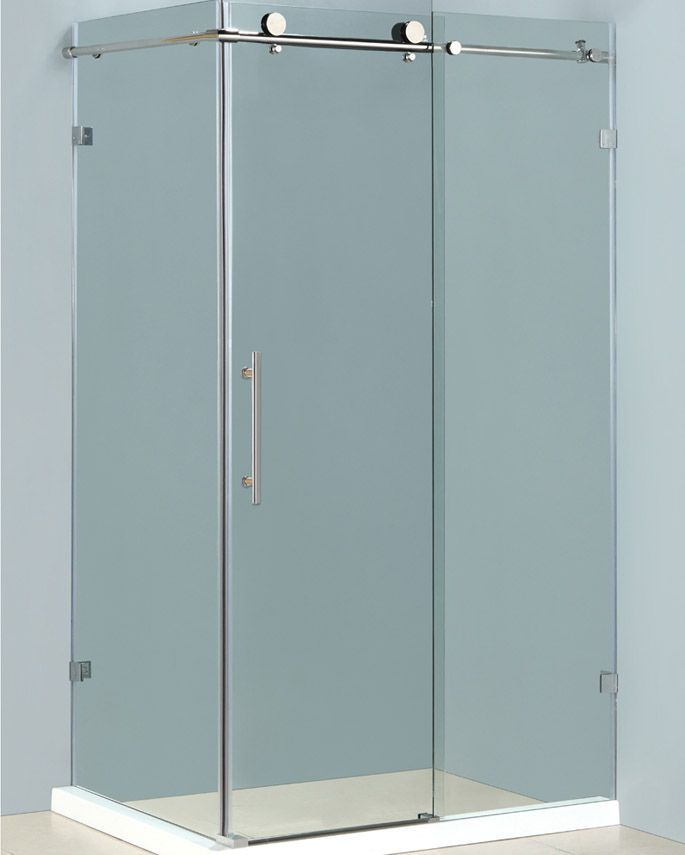 Outstanding Rolling Shower Doors Picture Collection - Bathtub Ideas ...
