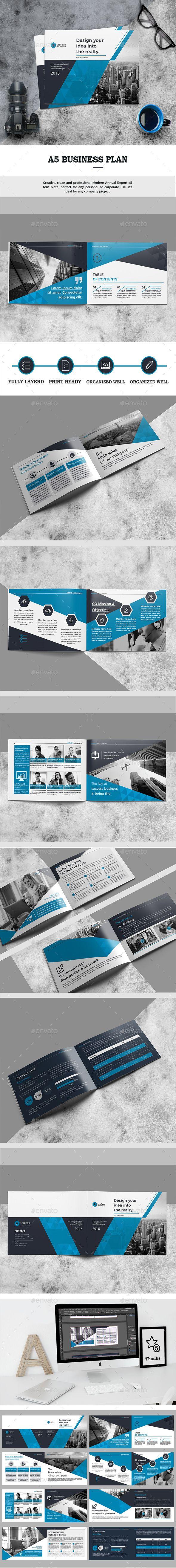 Landscape Brochure | Brochure Templates | Pinterest | Material ...