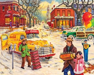Coca-Cola: Hometown - 2000pc Jigsaw Puzzle by Springbok