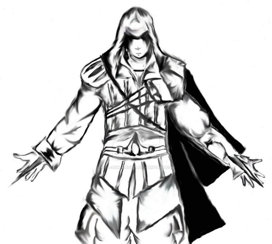 Ezio Auditore Da Firenze By Kail Don Rafael D3ecj42