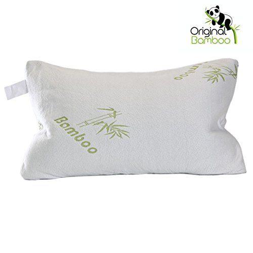 Best Bamboo Bed Pillows Top Rated Memory Foam Original Bamboo