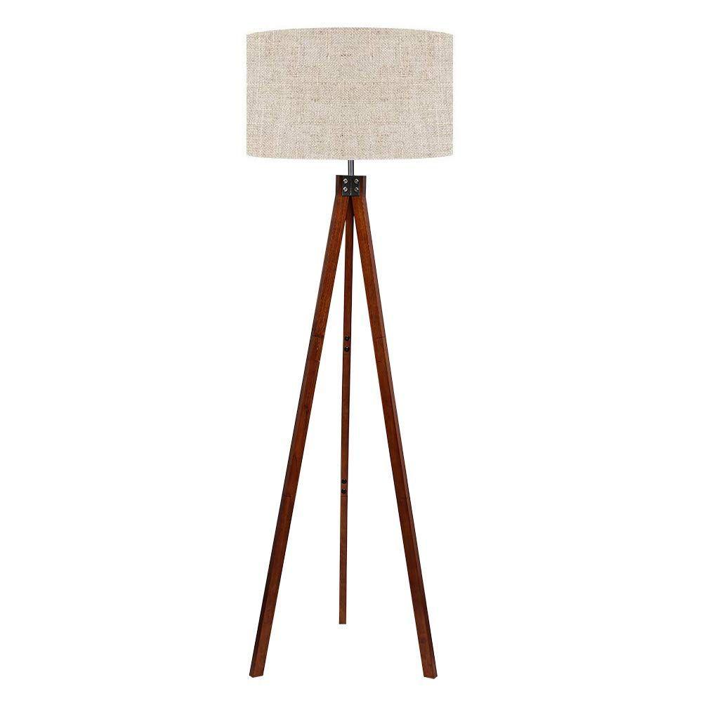 Lepower Wood Tripod Floor Lamp Standing Lamp Modern Design Studying Light For Design Floor L In 2020 Modern Floor Lamps Floor Standing Lamps Wooden Floor Lamps