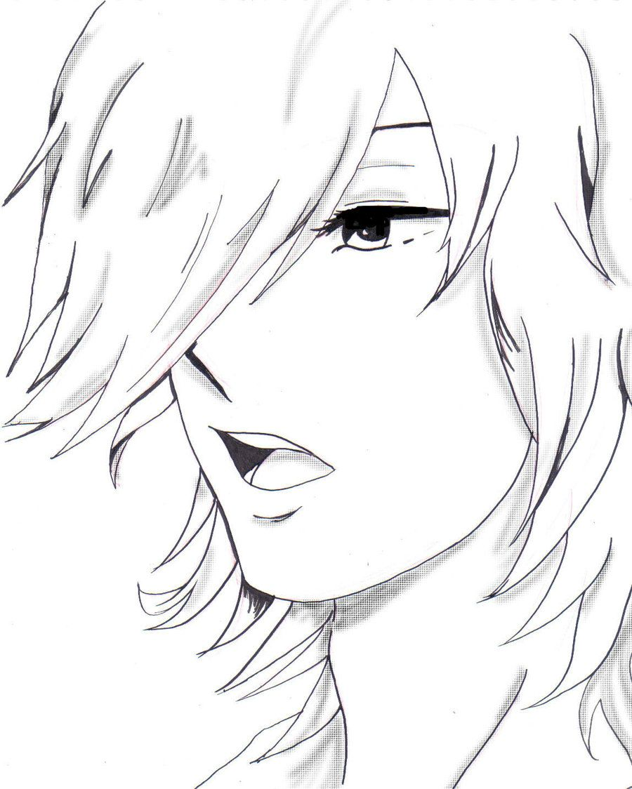 Scribble Drawing Anime : Images for gt anime boy drawing eyes and manga