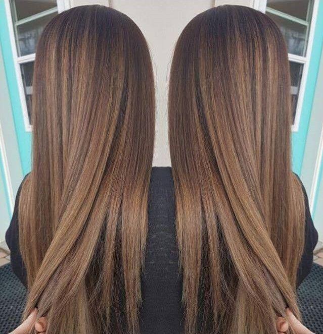 braune Haarfarbe – Haarfarbe #haar #Haar #Haarfarbe   – Hair