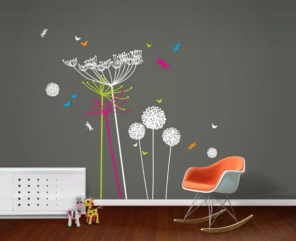 Funky wall mural decor for kids\' rooms | For The Home ...