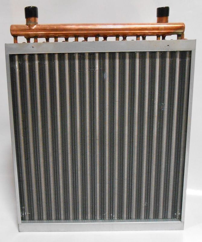 24x24 Water to Air Heat Exchanger Hot Water Coil Outdoor