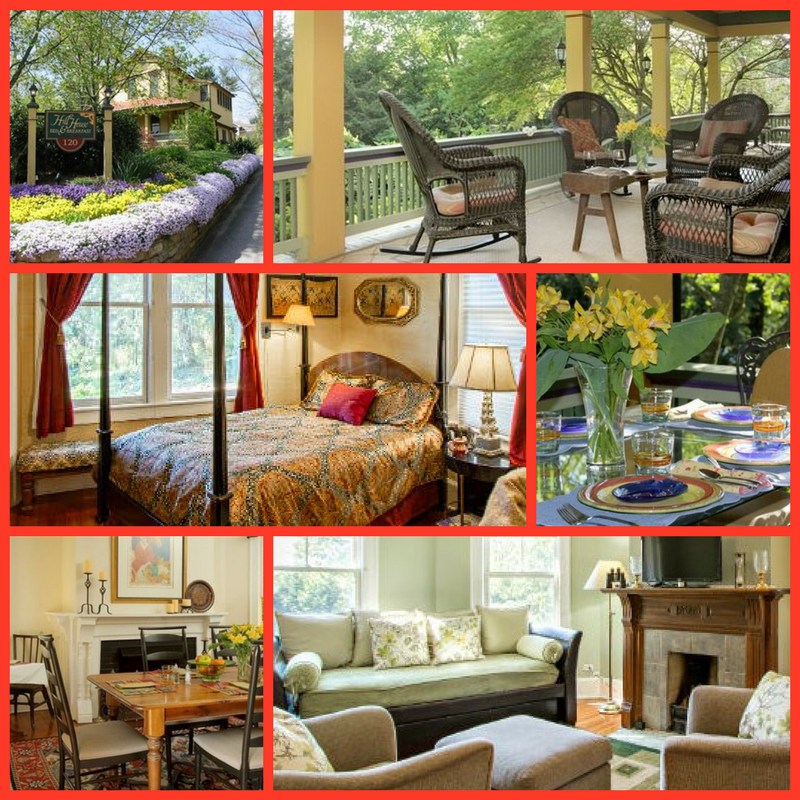 Hill House Bed and Breakfast in Asheville, North Carolina