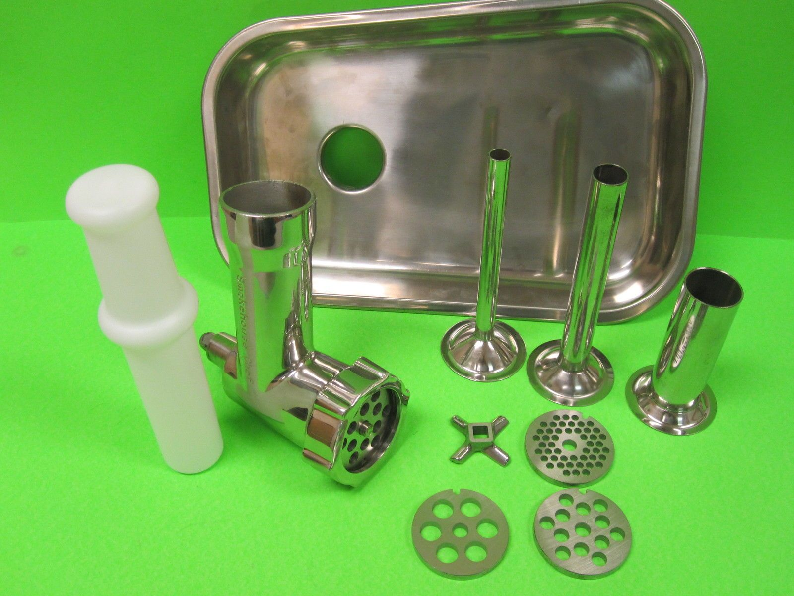 Details about stainless steel metal meat grinder food