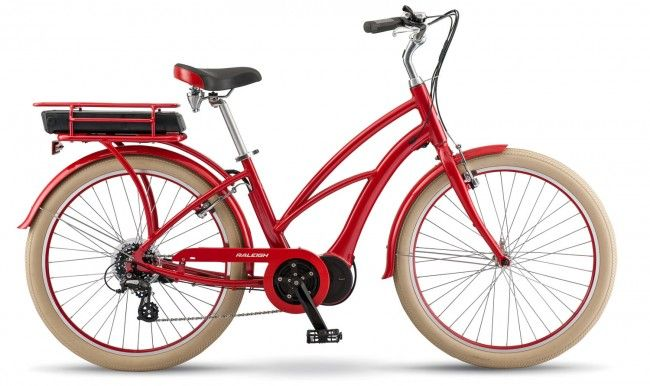 Retroglide Ie Step Thru Raleigh Electric Bikes With Images