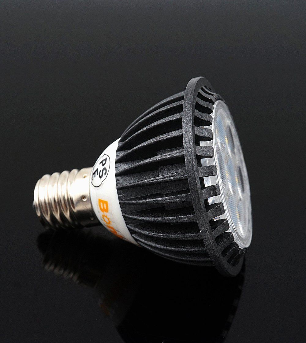 Bonlux 5W LED E17 Light Bulb Intermediate Base E17 120V Daylight 6000k LED Spot Light 50W & Bonlux 5W LED E17 Light Bulb Intermediate Base E17 120V Daylight ...