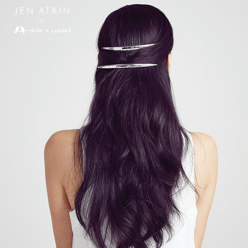 Keep your sleek on fleek with our modern metal hair ...