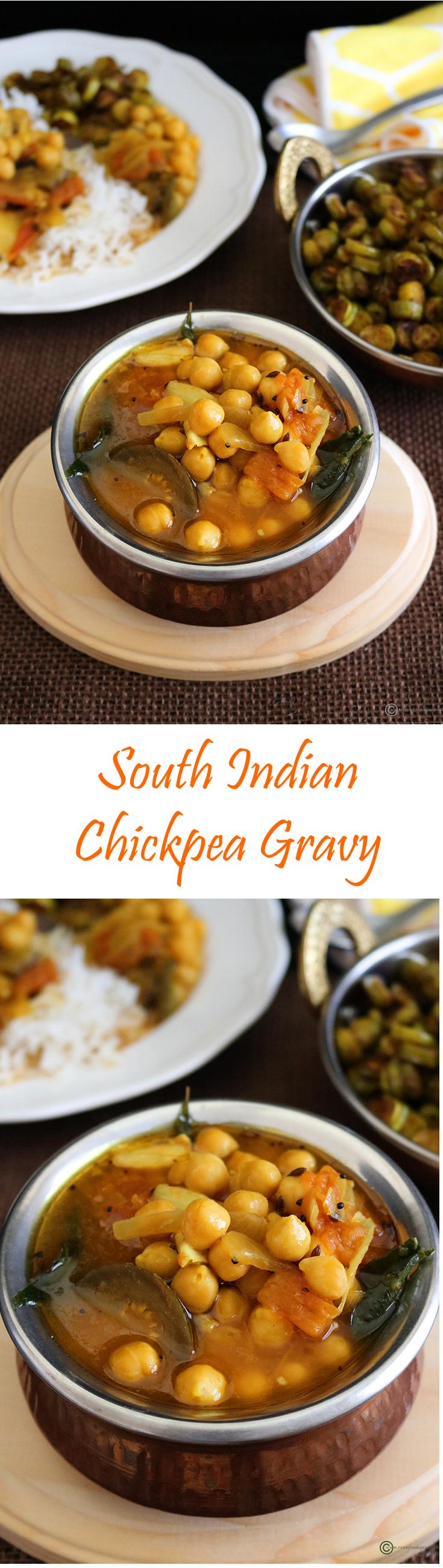 Kondai Kadalai Kuzhambu Recipe Indian food recipes