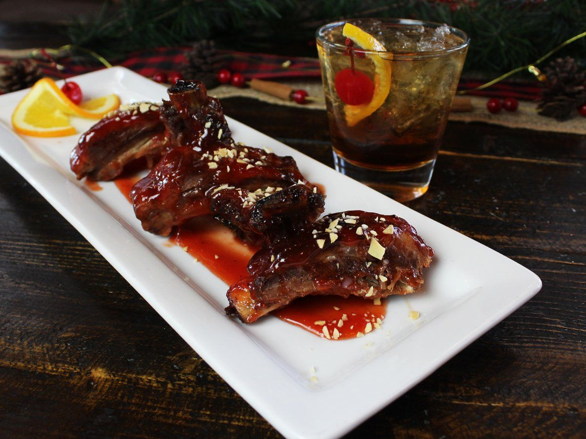 Granite City Brewery Old Fashioned Cocktail Ribs Granite City Brewery Food