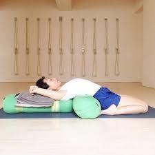 image result for supta virasana yin yoga  yoga asanas