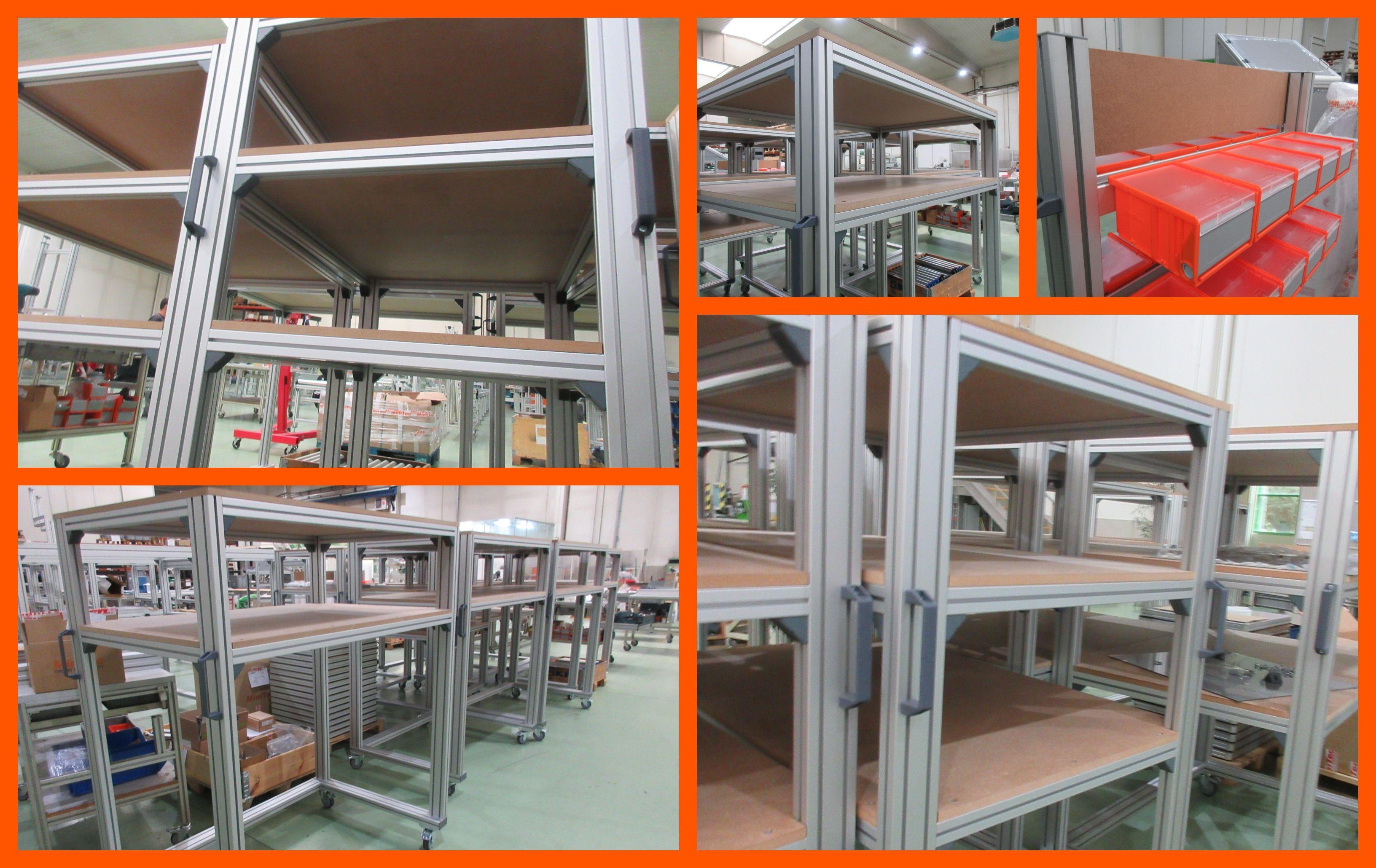 Estructuras De Aluminio Minitec España Perfiles De Aluminio Aluminio Carpinteria Metalica