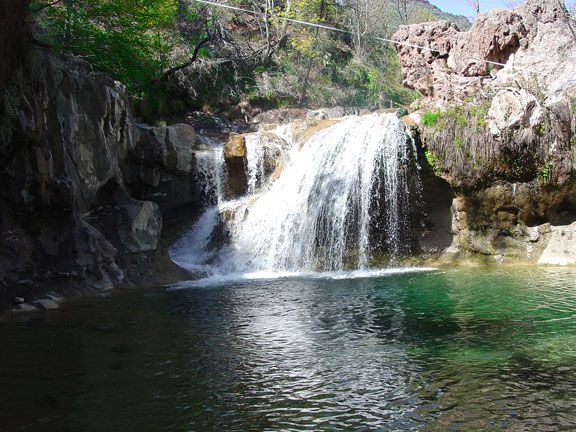 To Those Of You Who Think That Arizona Is Just A Hot Dry Desert This Little Place Called Fossil Creek Near Camp Verde Az