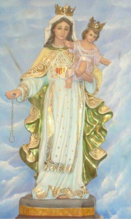 Virgen De Las Mercedes Coniglietti Madonna Gesu