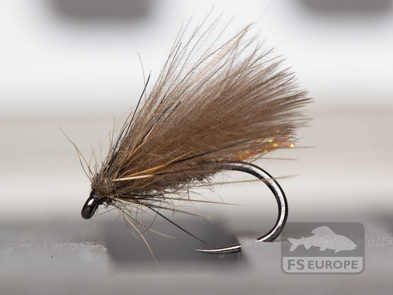 3 x YELLOW SEDGE HOG DRY TROUT FLIES size 10,12 available