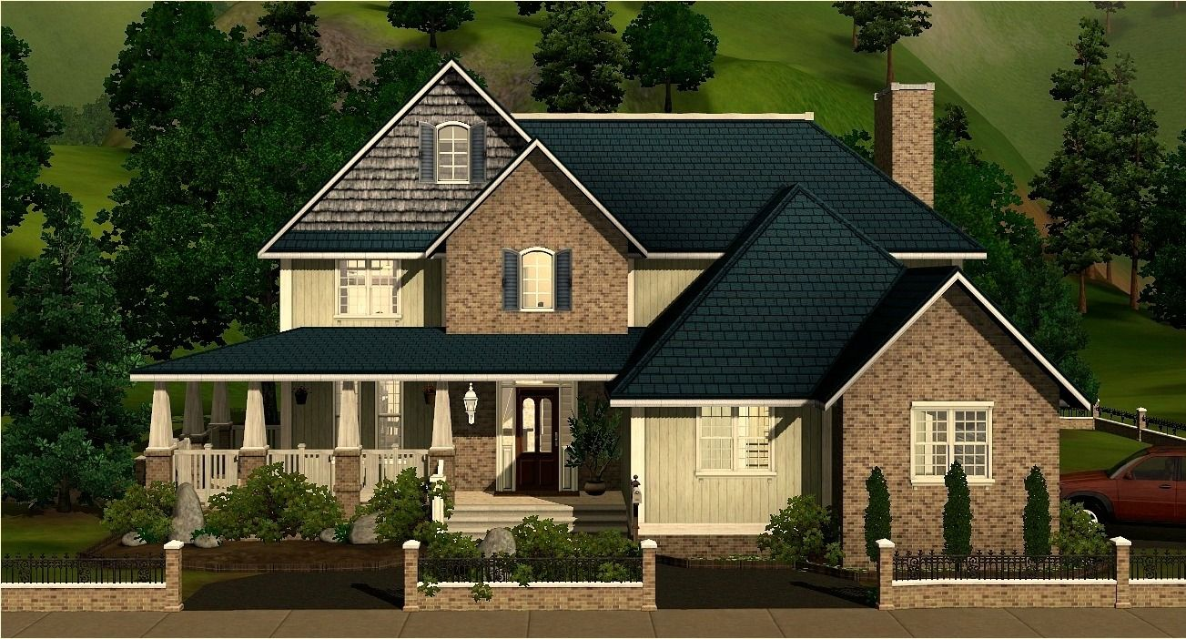 Everyonesims Large Family Home Sims 4 Family House Sims House Sims House Plans