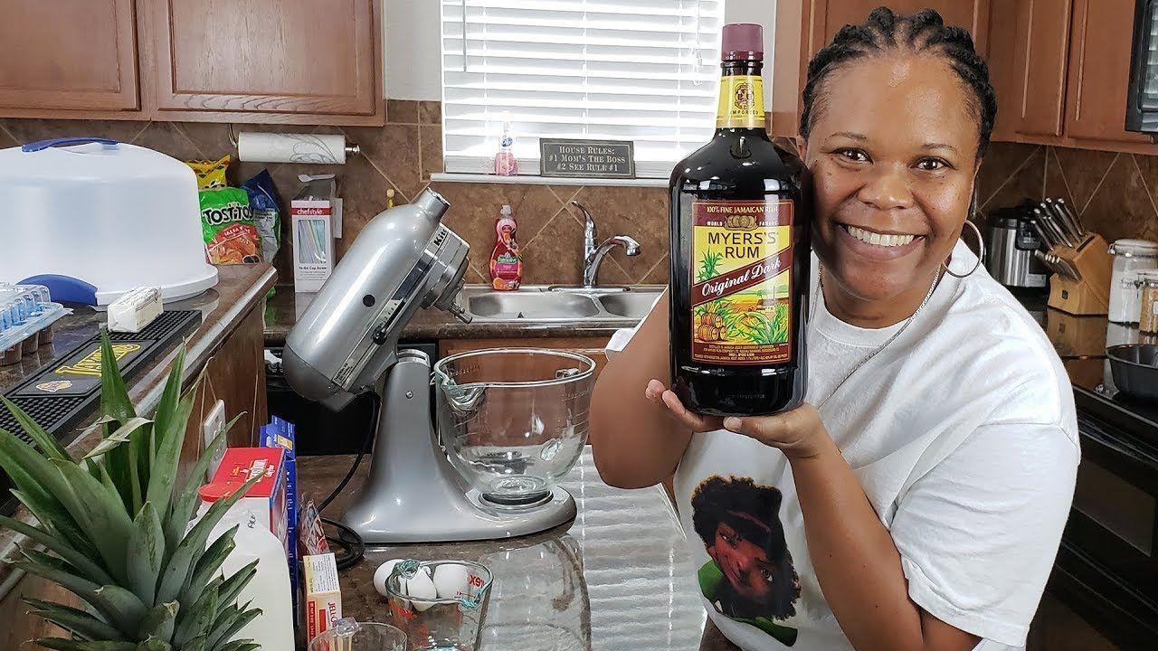 How to make a rum cake jamaican rum moist dessert