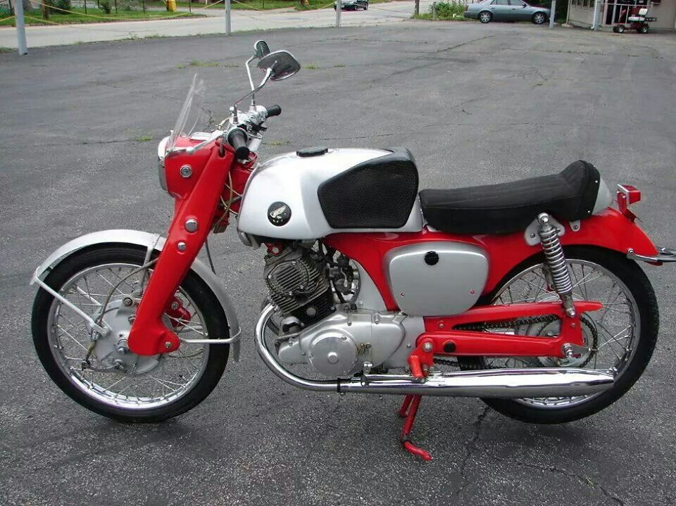 1960 Honda Benly Cb92 Super Sport Honda Motorcycles Old Honda