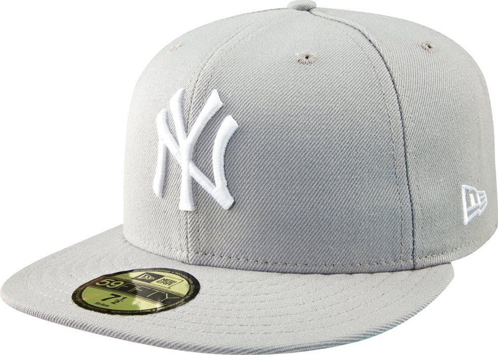 Mlb new york yankees basic 59fifty cap grey size 7 cap