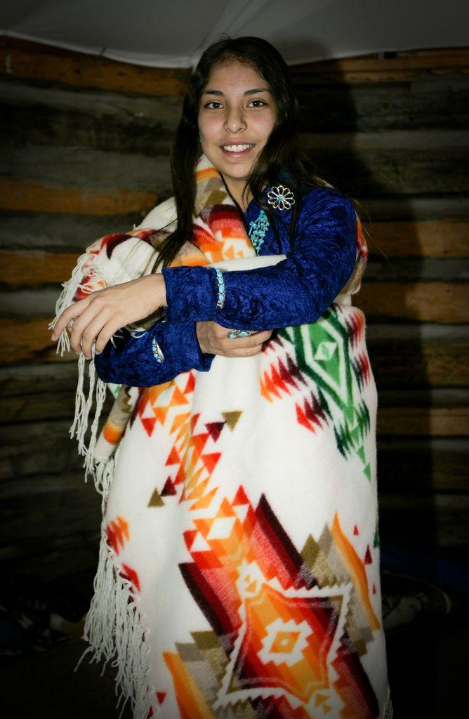 Beautiful young woman, Navajo