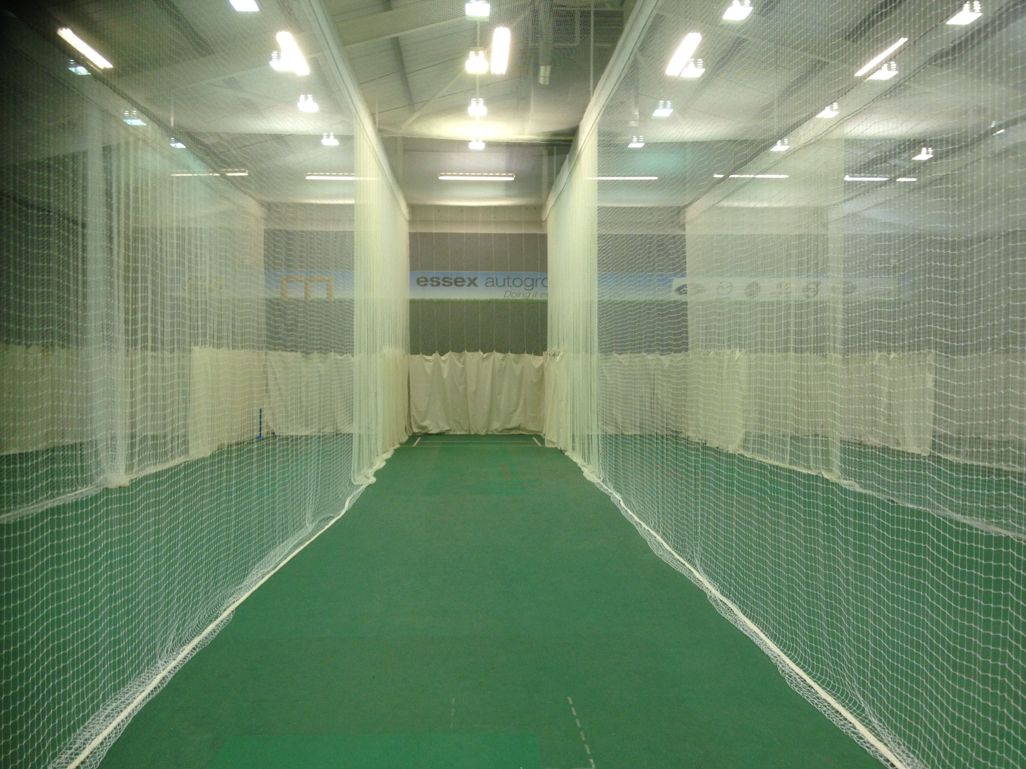 Indoor Cricket Netting Supplied And Installed By Sports Facility Services Home Basketball Court Cricket Nets Sports Complex