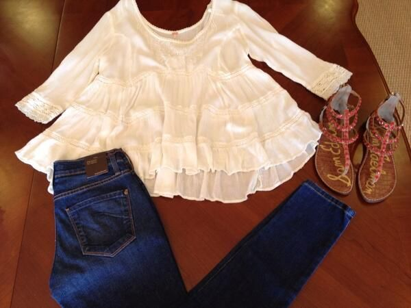 Looks we love! Free People + James Jeans + and Sam Edelman