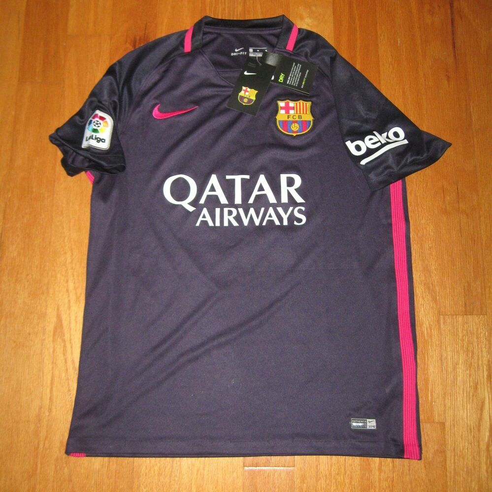 low priced c01bb 0f49f eBay #Sponsored NIKE FCB BARCA MESSI 10 PURPLE POLYESTER ...