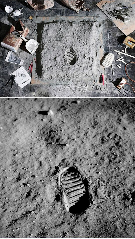 Moon landing conspiracy theories are conspiracy theories