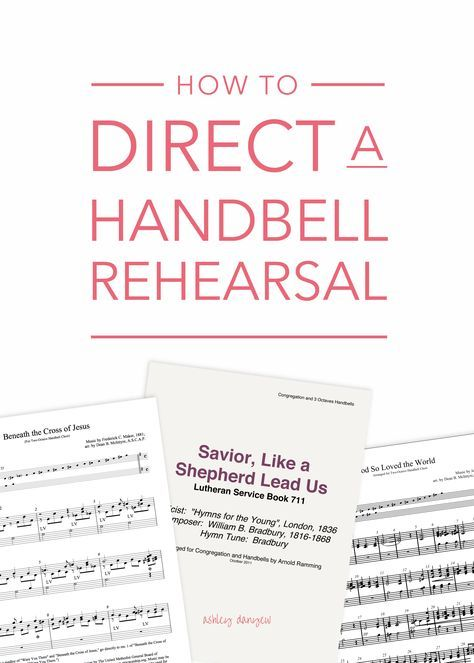 How To Direct A Handbell Rehearsal Choir Learning And Instrumental