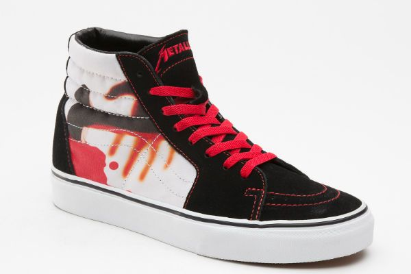 9703dcbb4dc Vans x Metallica Kill  Em All