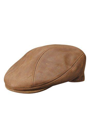 9dba0eb315a5e3 Stetson Leather Driving Cap $78.00 | Born In The USA in 2019 | Hats ...
