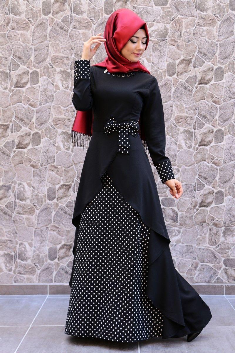 258a2f2d4b85a ModaSelvim Tesettür Giyim - modaselvim.com Abaya Modası, Müslüman Modası, Elbise  Modelleri,
