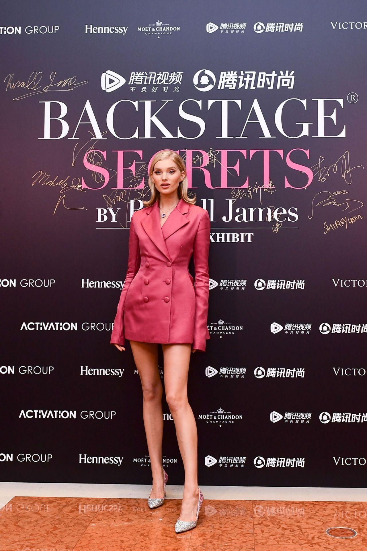 Elsa Hosk Backstage Secrets By Russell James Beijing