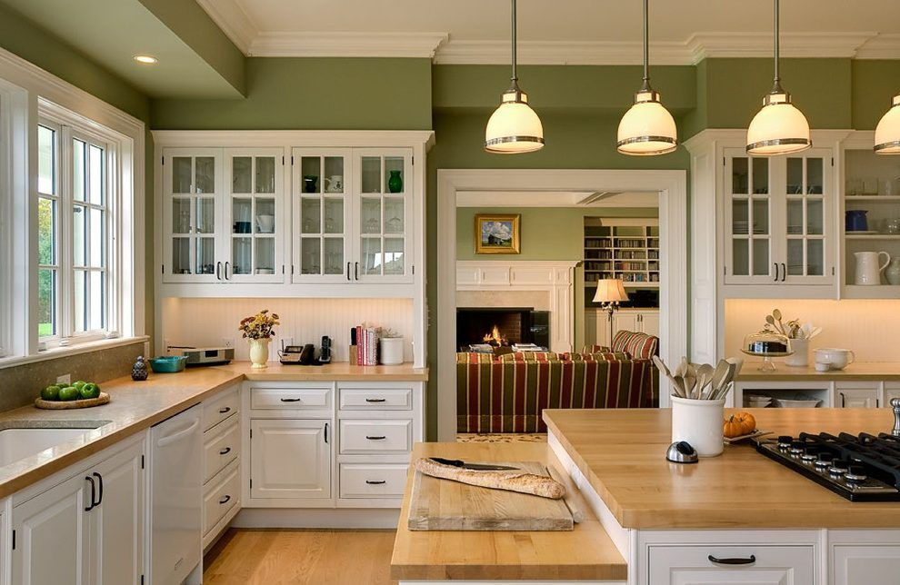 Olive Green Kitchen On Kitchen Intended Olive Green Paint