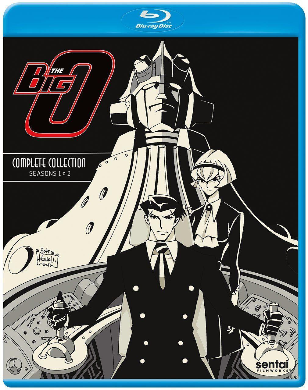 The Big O Complete Collection Bluray Blu ray, Blu ray