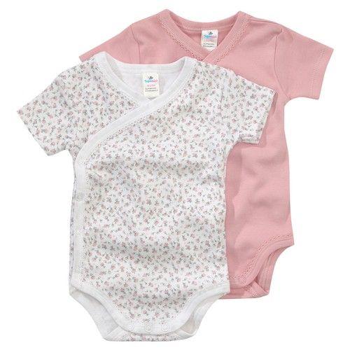 2 Newborn-Wickelbodys von Topomini für Mädchen bei ...