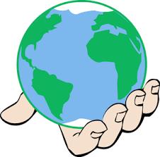 Hasil Gambar Untuk Bola Dunia Animasi World Clipart Hand Png Cartoon Flowers