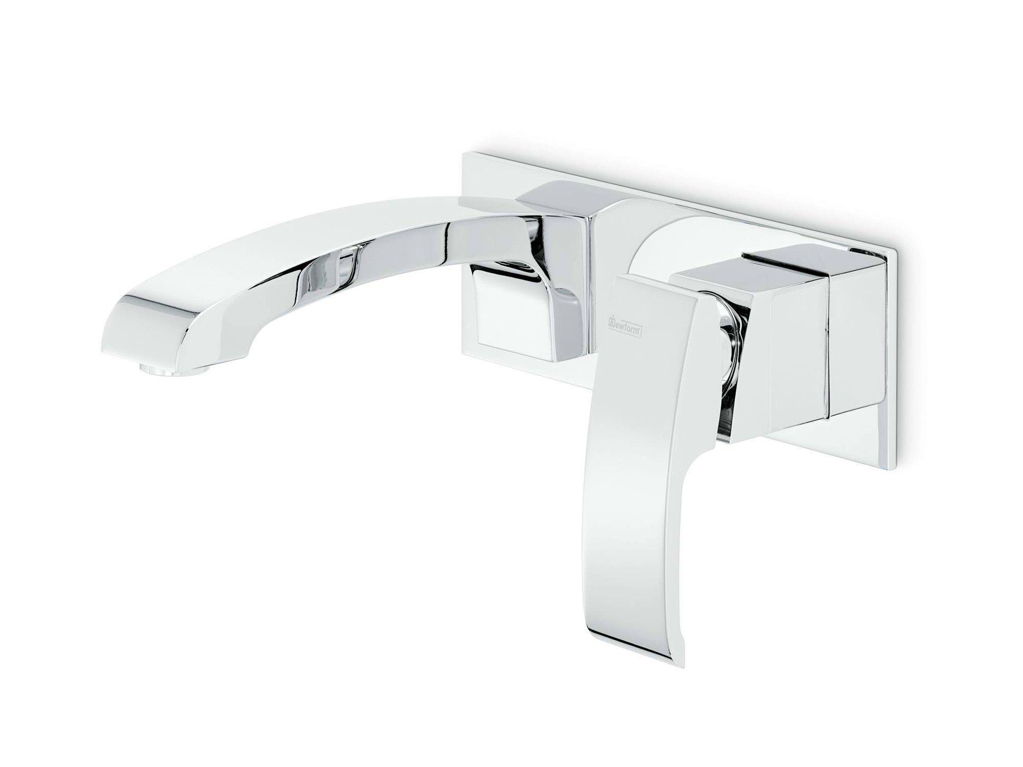 X-SENSE Miscelatore per lavabo con piastra by #NEWFORM #bath ...