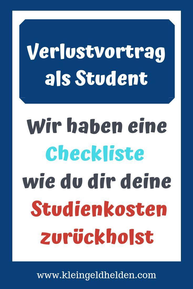 Steuererklärung Studenten Tipps
