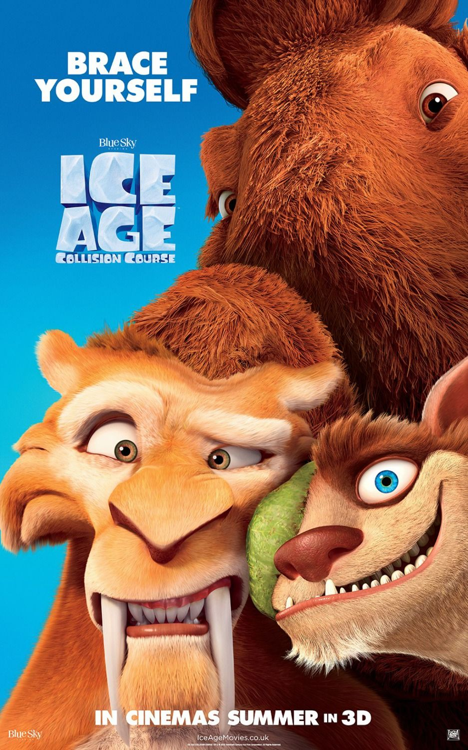 Ice Age 5 Extra Large Movie Poster Image Internet Movie Poster Awards Gallery Ice Age Collision Course Ice Age Ice Age Movies