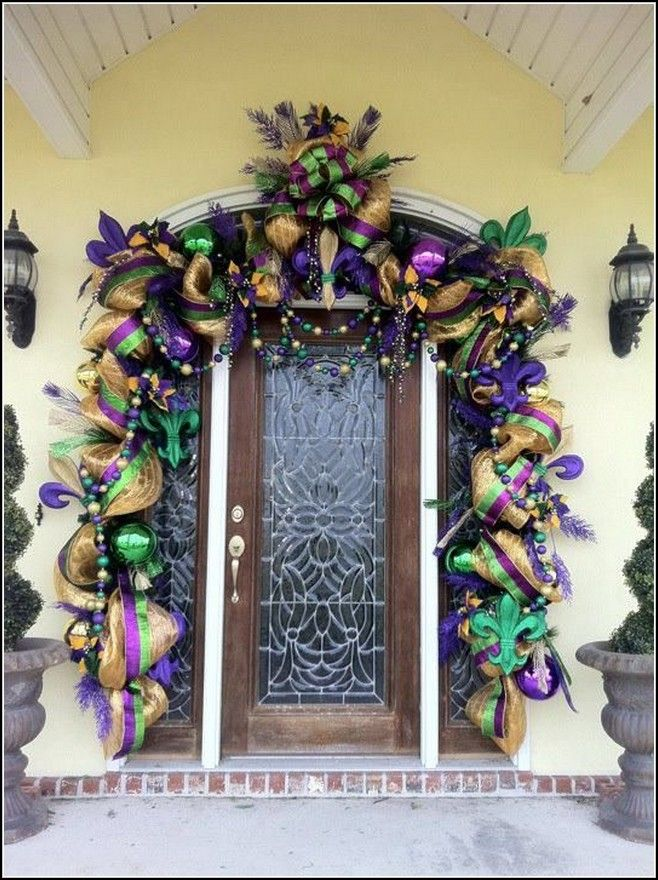 Mardi Gras Decoration Ideas House