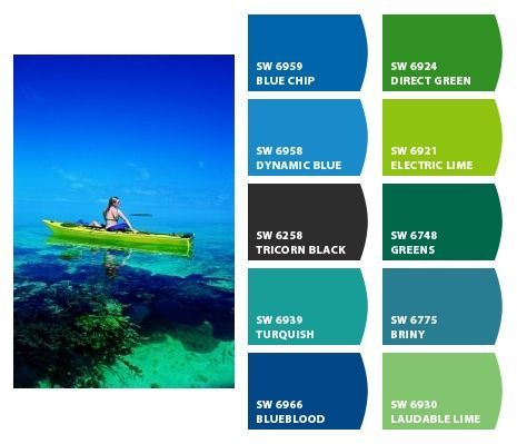 paint colors from chip it!sherwin-williams--turquoise