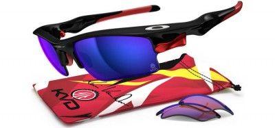 c084f4a0b Óculos Oakley Men's Kevin Vandam Signature Series Polarized Fast Jacket  Polished Black Shallow Blue Iridium Polarized G30 Polarized OO915623 #Oculos  #Oakley
